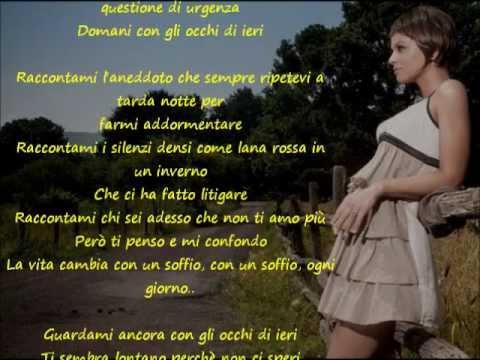 Alessandra Amoroso - Domani con gli occhi di ieri