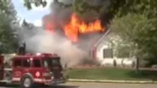 House Fire Lumberton, Burlington County NJ. 04-21-12