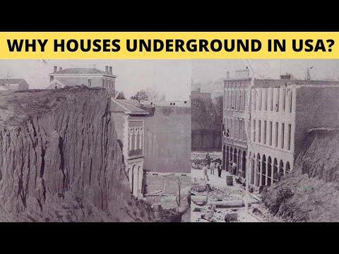 ГОРОДА США ЗАСЫПАНЫ СОВСЕМ НЕДАВНО. КАК ИХ ОТКАПЫВАЛИ? Что закопало города в США?