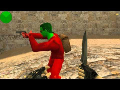 Школа Counter Strike 1.6 - Как стрелять с awp Без прицела Старое видео!