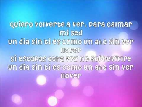Selena Gomez & The Scene - Un Año Sin Llover Lyrics