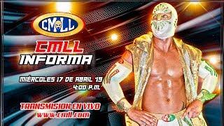 CMLL INFORMA 17 DE ABRIL DE 2019