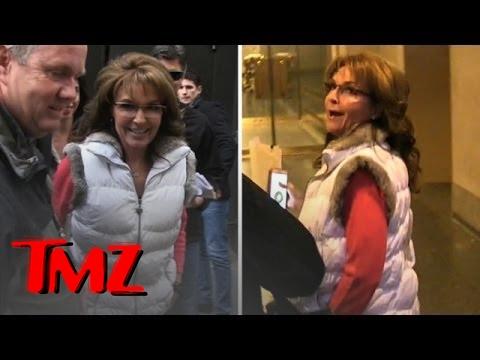 Sarah Palin Talks Smack About Her Grandson's Daddy Levi Johnston! | TMZ