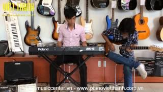 Hòa tấu - Besame mucho - Guitar Squier Fender & Roland BK5