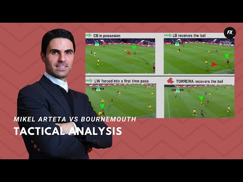 mikel-arteta-vs-bournemouth-|-tactical-analysis-and-things-he-improved