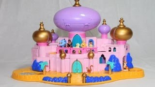 Disney Jasmine's Royal Palace Aladdin's Castle Polly Pocket Castle Jafar Aladdin AllToyCollector