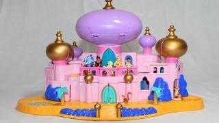 Toy Review Disney Jasmine's Royal Palace Aladdin's Castle Polly Pocket