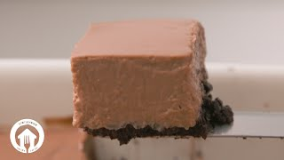 4-Ingredient Microwave Chocolate Cheesecake