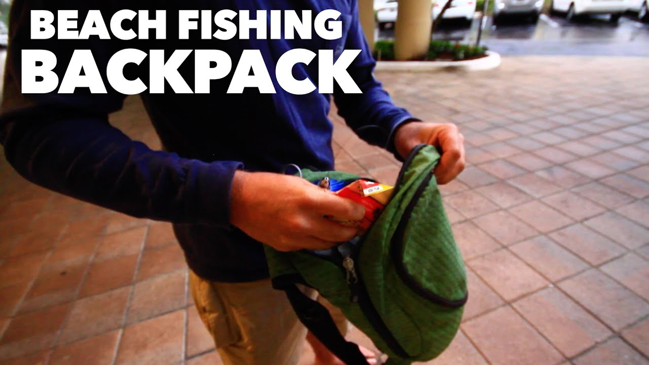 Fishing gear beach fishing backpack for extreme beach for Shark fishing gear for beach