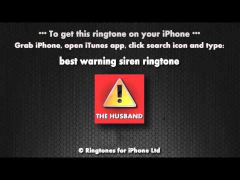Warning it's the husband (iPhone Ringtone)