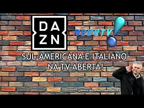 DAZN firma parceria com RedeTV | JOSÉ MOURINHO comenta jogo do Santos