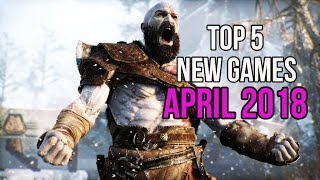 Top 5 New Games of April 2018 | PC,PS4 | INSANE Graphics