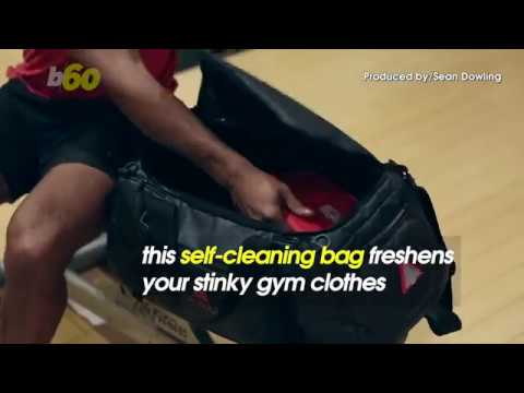 This Self-Cleaning Bag Will Keep Your Gym Clothes Smelling Fresh ... 501dea8ca2c64