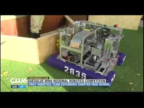 My Work: Channel 6 News' Interview for Escondido Charter High School