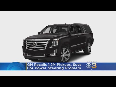 GM Recalls 1.2M Pickups, SUVs Due To Power Steering Problem