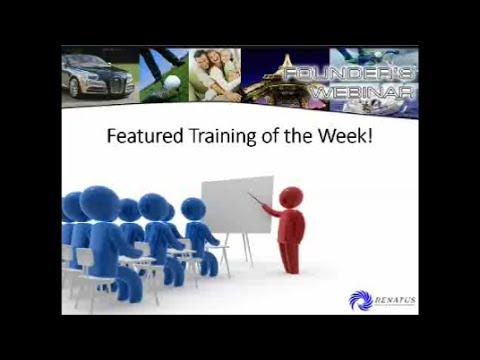 2015-06-22 Renatus Founders Webinar - SWEEP Strategy
