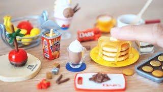 RE-MENT || UNBOXING Morinaga Sweets Recipe  - Miniature Land