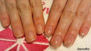 Jak przedłużyć paznokcie o 3 mm hybrydami - Semilac Hard -