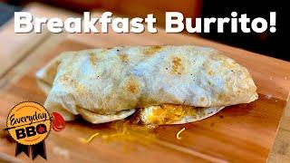 Breakfast Burrito on the Blackstone Flat Top Griddle   How to make a Breakfast Burrito