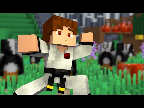 "Minecraft Kung Fu Panda Roleplay! #2 ""Mini Games!"""