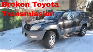 Bad Toyota Transmission..Can We Fix It For Free?