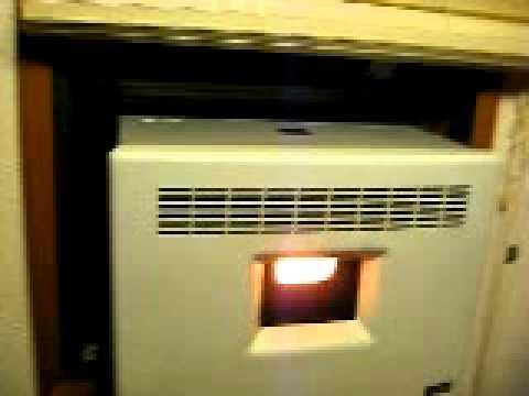 Eco-Aire 2400 window pellet Heater | Doovi
