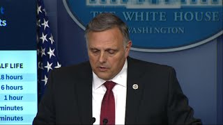 White House: Heat, sunlight cut coronavirus life