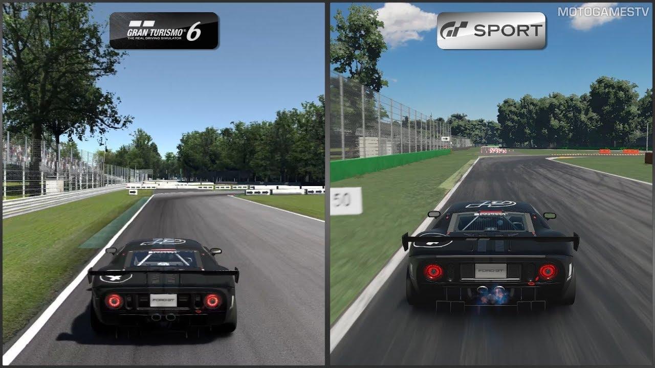 Gran Turismo  Vs Gran Turismo Sport Ford Gt Lm Spec Ii Test Car At Monza