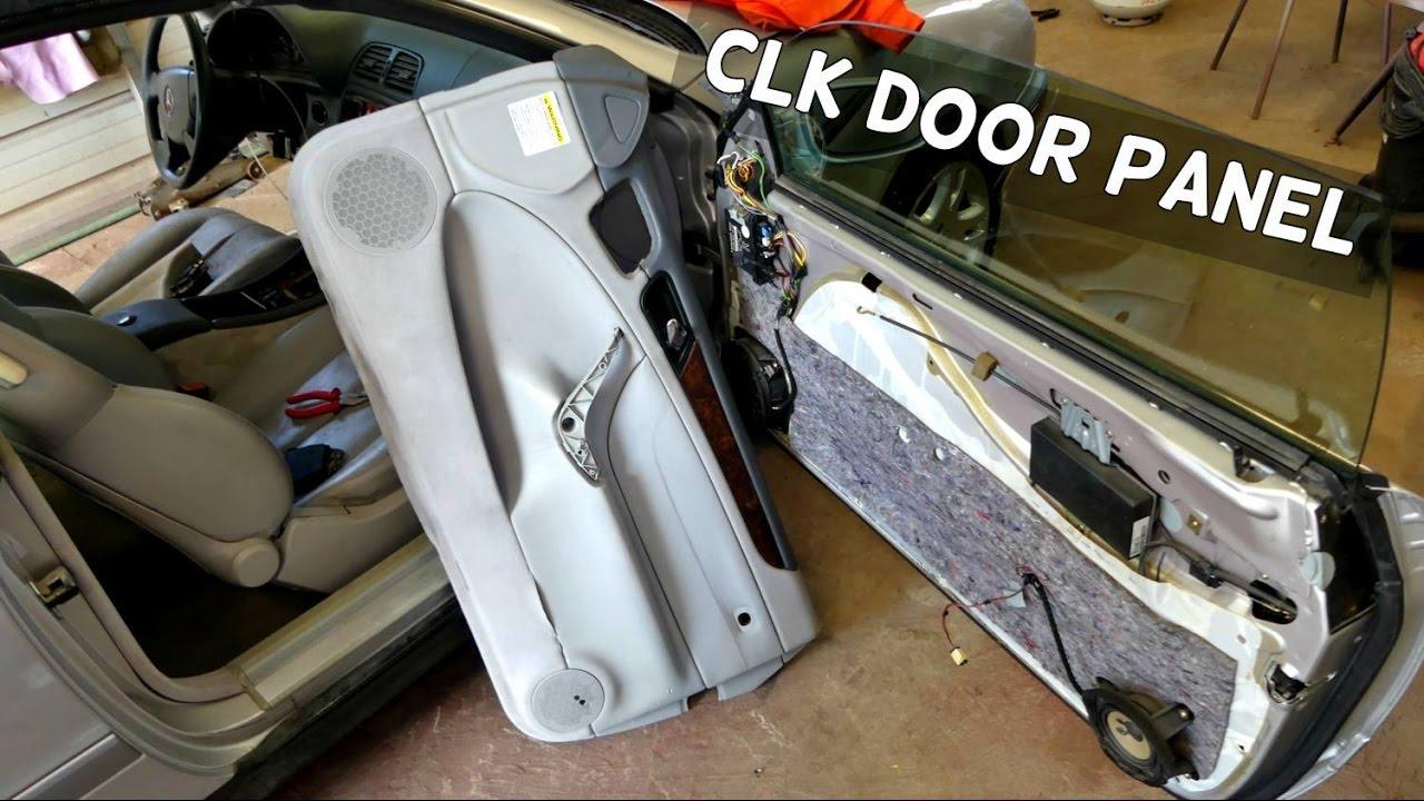 Mercedes w208 clk front door panel removal replacement clk320 mercedes w208 clk front door panel removal replacement clk320 clk430 clk230 clk200 rubansaba