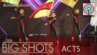 Little Big Shots Philippines: Jean, Rich & Sophia   Color Guard Trio