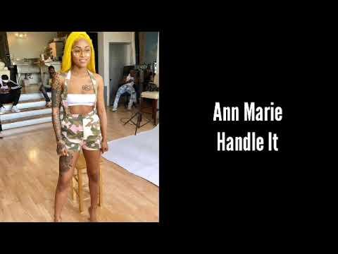 Ann Marie - Handle it (CLEAN LYRICS)