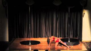 Windy City Pole Dance Competition 2013 Bobbi Reed