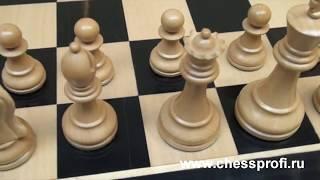 Гроссмейстерские шахматы Стаунтон - Staunton chess set - Обзор