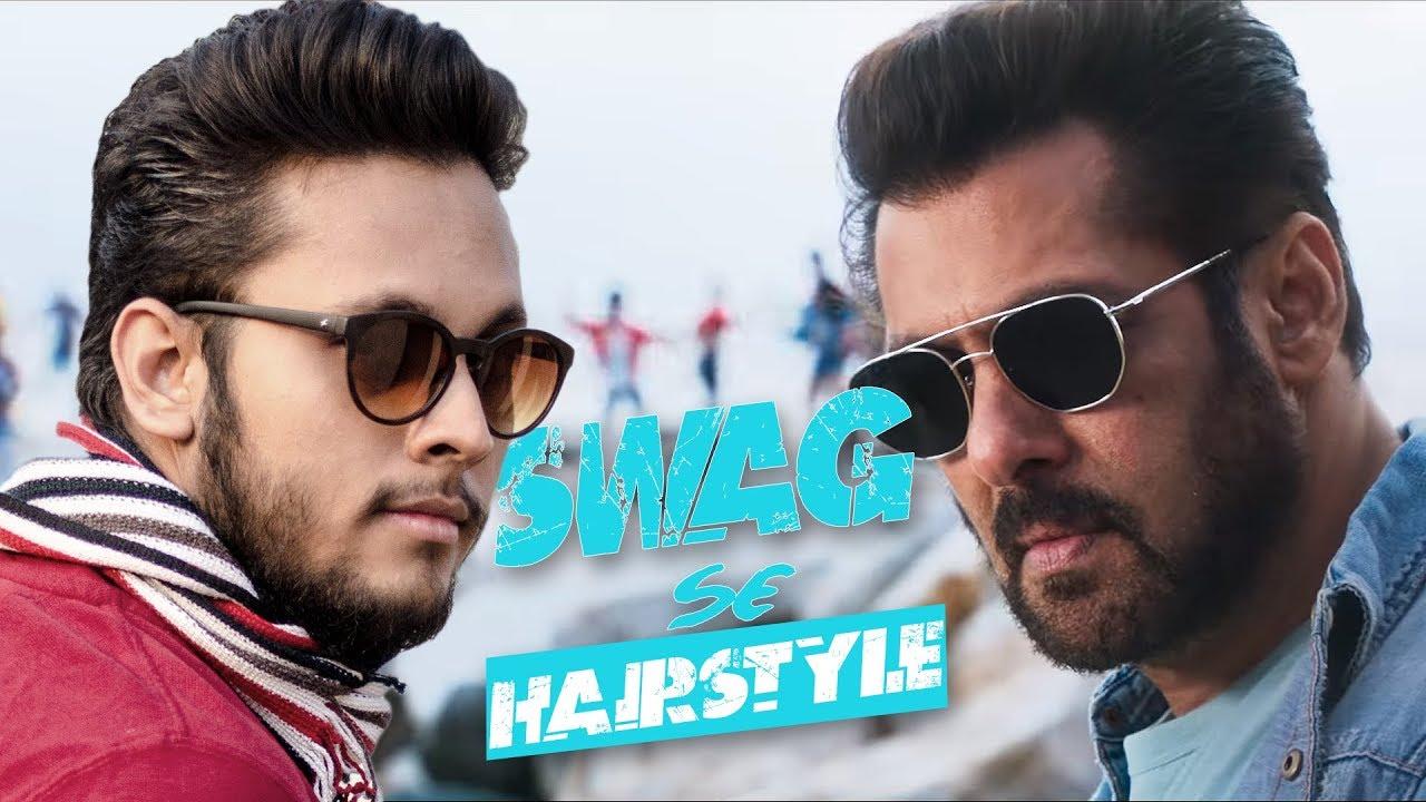 Tiger Zinda Hai  Salman Khan inspired Hairstyle Tutorial  How to  Hairstyle like Salman Khan