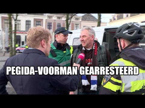 Pegida-voorman gearresteerd wegens… Ja wegens wat eigenlijk?