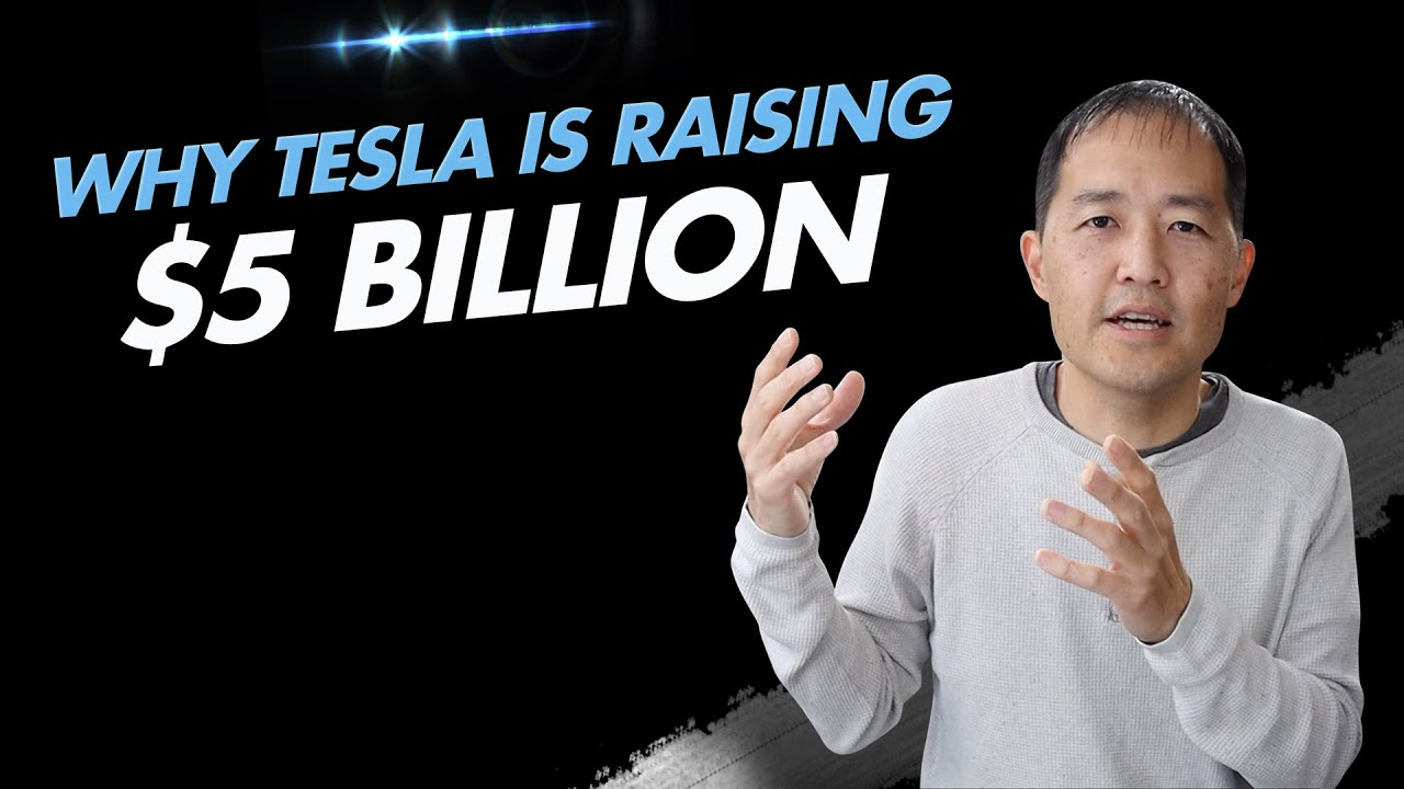 Tesla announces plans to sell up to $5B in new stock shares