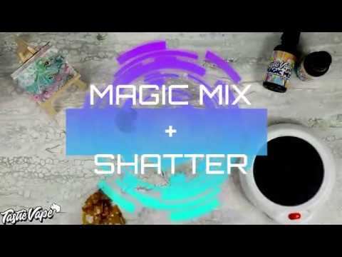 Turn Shatter into Vape Juice in 2 minutes with TastieVape Magic Mix!