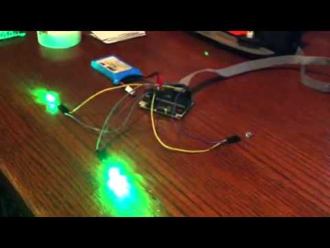 AVR Simple RTOS - Blink LEDs