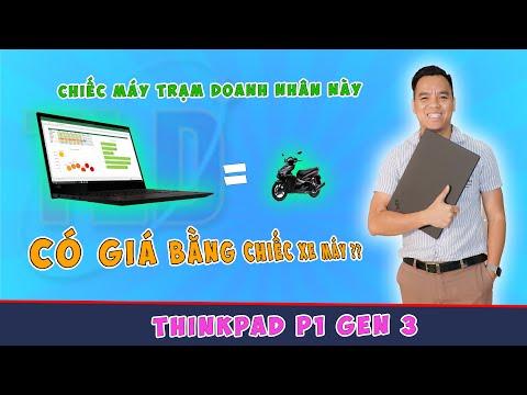 Đánh Giá Chất Lượng Laptop Lenovo ThinkPad P1 Gen 3