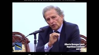 Alberto Bengas Lynch |  The BEST definition of CLASSICAL LIBERALISM in 40 seconds