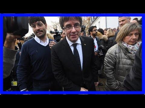 Spain drops european arrest warrant for deposed catalan leader