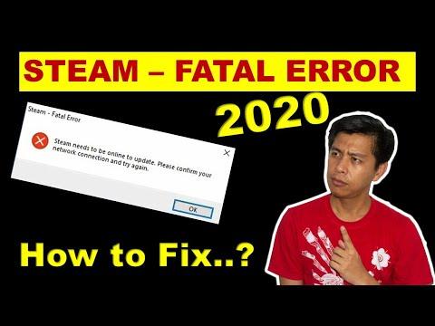[FIX] CARA MENGATASI STEAM FATAL ERROR..!!! 2020