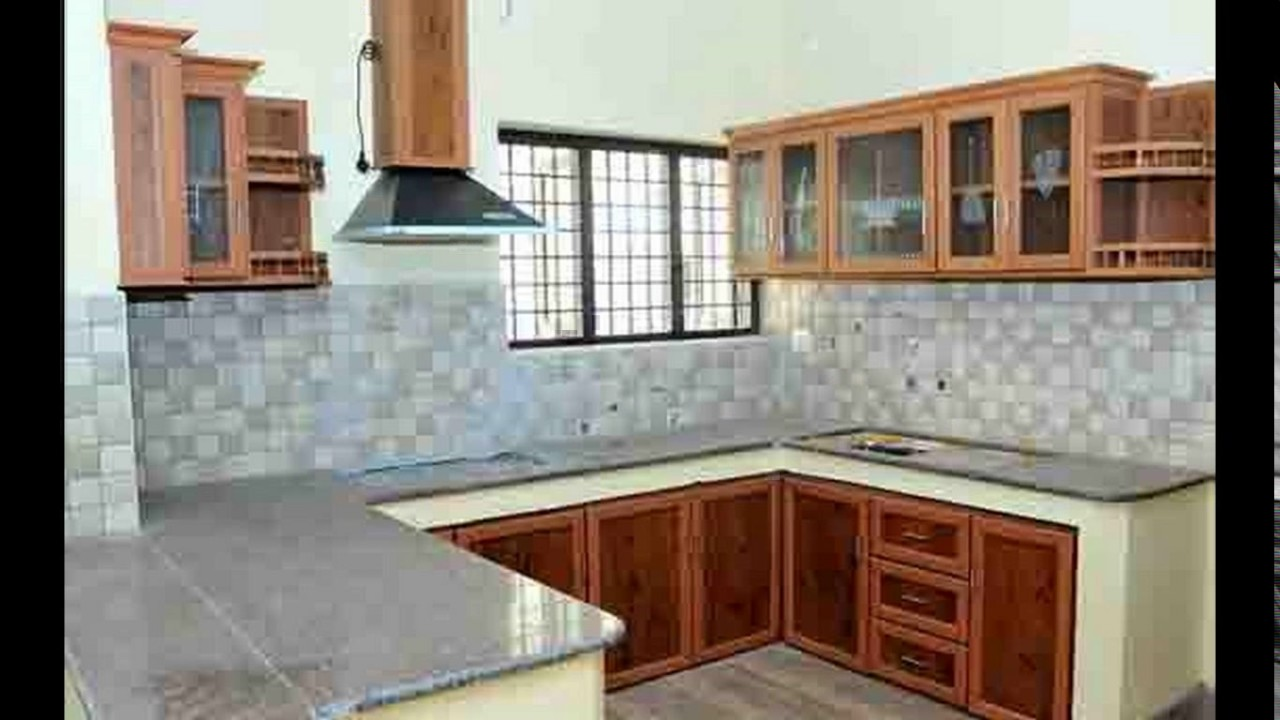 Aluminium kitchen cabinet design - YouTube