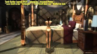 """Tomb Raider Legend (PS3) - Lara Croft in her """" Swimsuit """"."""