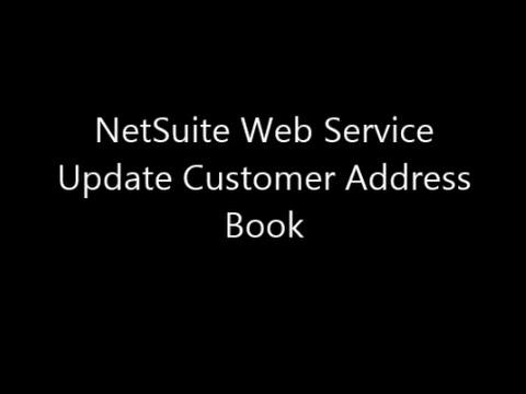customer address book