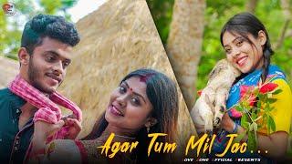 Agar Tum Mil Jao    Cute Romantic Love Story 2020   Amrita    Emraan Hashmi    Zeher    Ft.Raj & liz