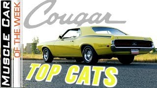 Mercury Cougar Muscle Cars From The Brothers Collection - Muscle Car Of The Week Video Episode 351