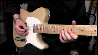 Pink Floyd - Money (Guitar Sound Test in TELECASTER with POD HD-500 Patches )