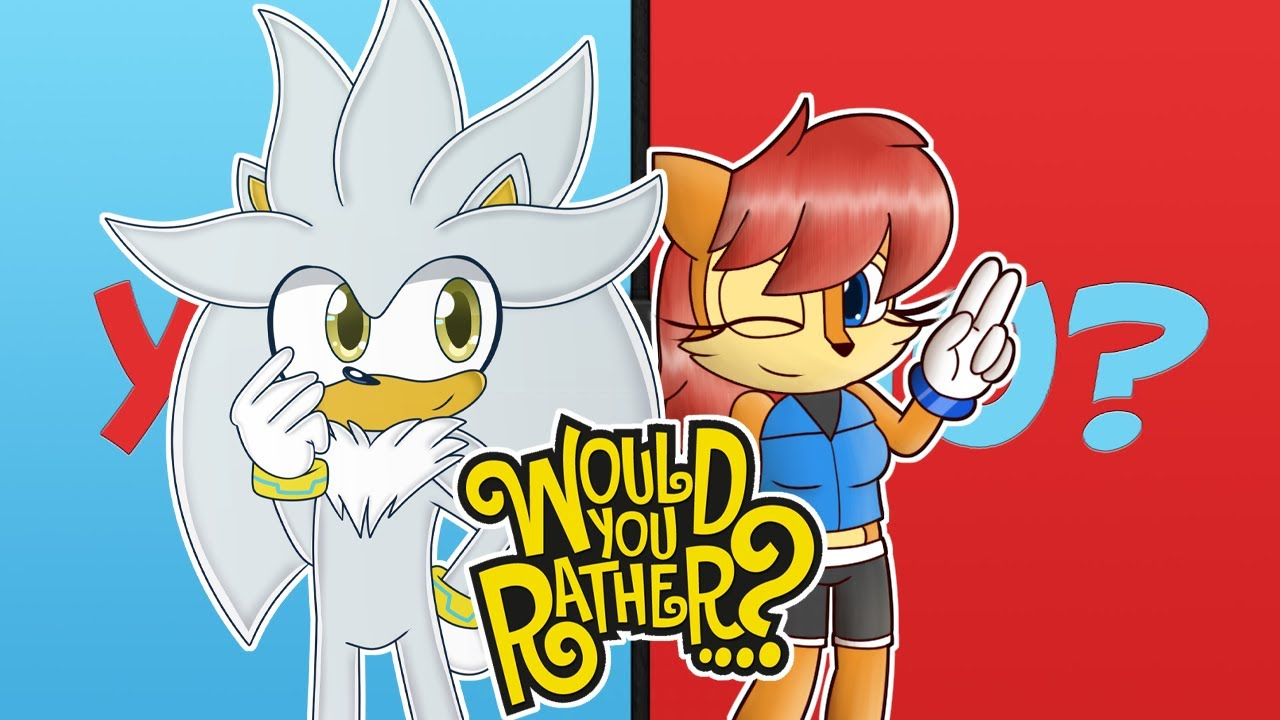 Silver & Sally Play Would You Rather
