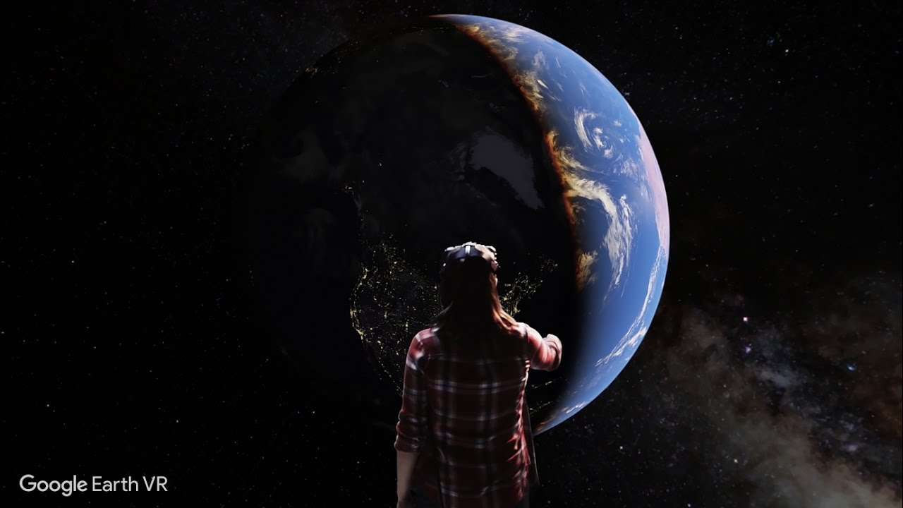 Google Earth VR Bringing The Whole Wide World To Virtual Reality - World earth